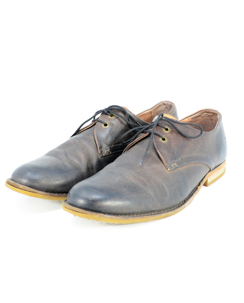 John Fluevog Brown Oxfords