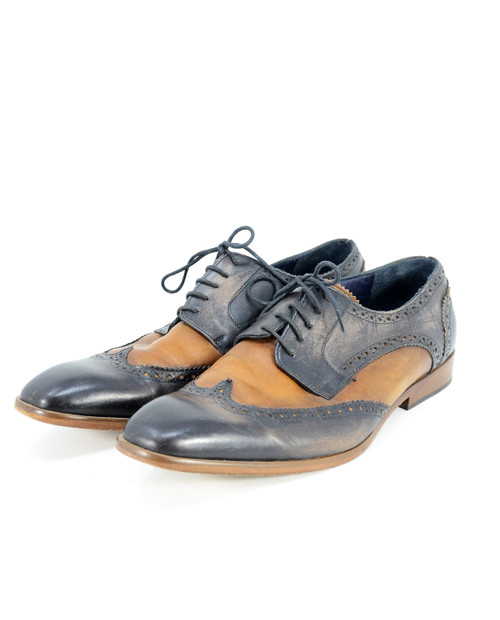 Two Tone Leather Wingtips