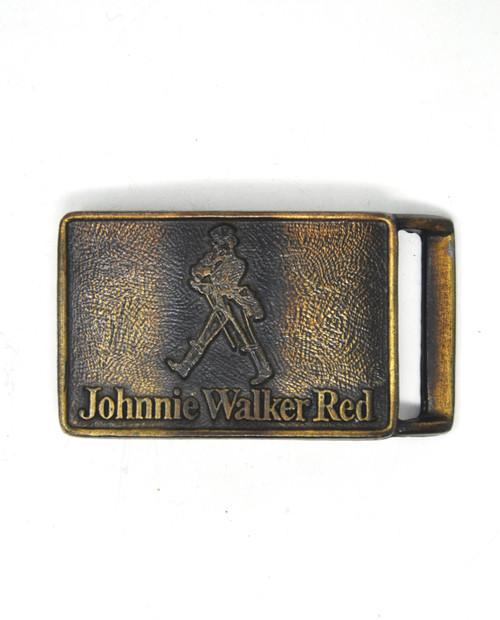 Johnnie Walker Red Belt Buckle