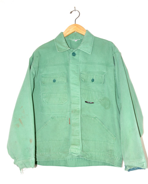 Green European Workwear Jacket
