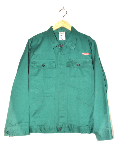 Dark Green European Workwear Jacket