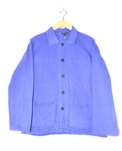 European Workwear Washed Out Chore Coat