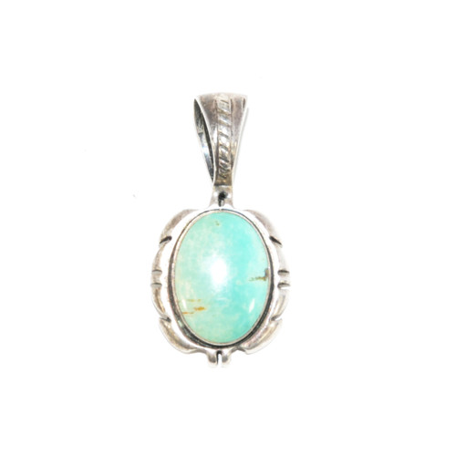 Oval Turquoise Pendant