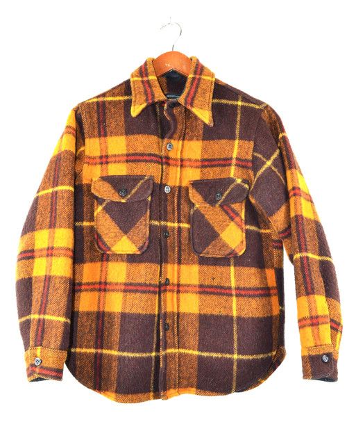 Lined Plaid CPO Shirt