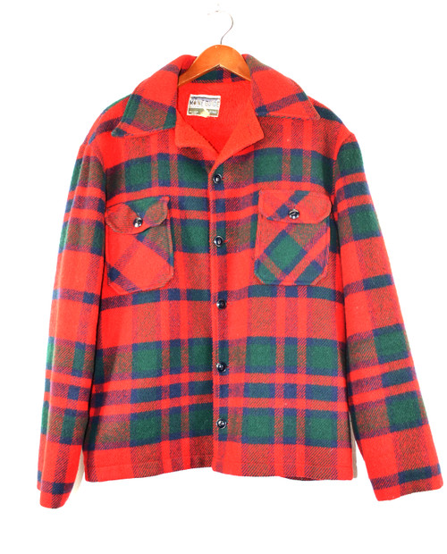 Lined Plaid CPO Jacket