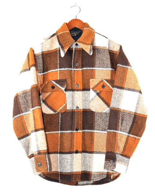 Brown Plaid CPO Shirt