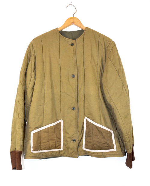 Upcycled Military Liner Jacket