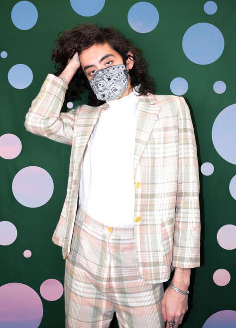 Plaid Pastel Suit