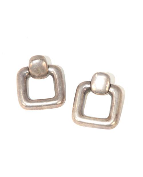 Sterling Geometric Earrings