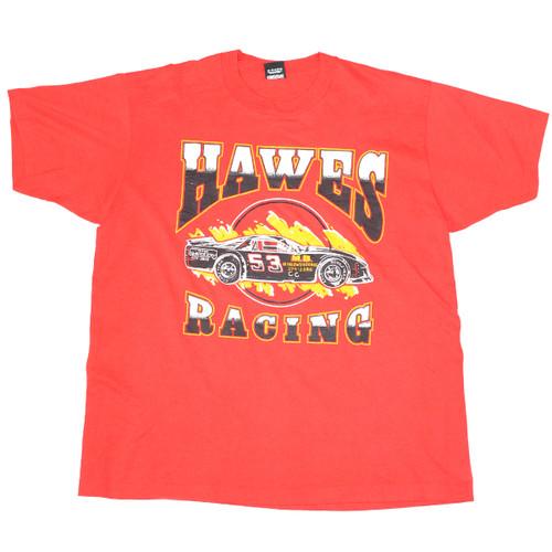 Hawes Racing Made in USA Screen Stars Single Stitch Tee