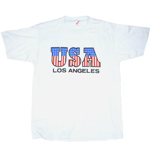 USA Los Angeles Single Stitch Tee