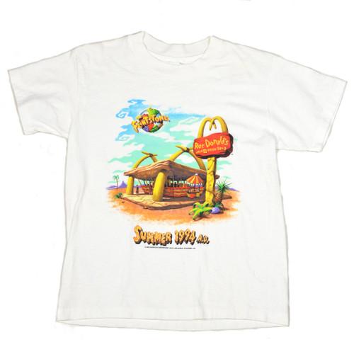 1994 McDonalds x Flintstones Promotional Tee