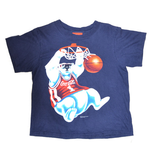 Coke Polar Bear Slam Dunk Tee