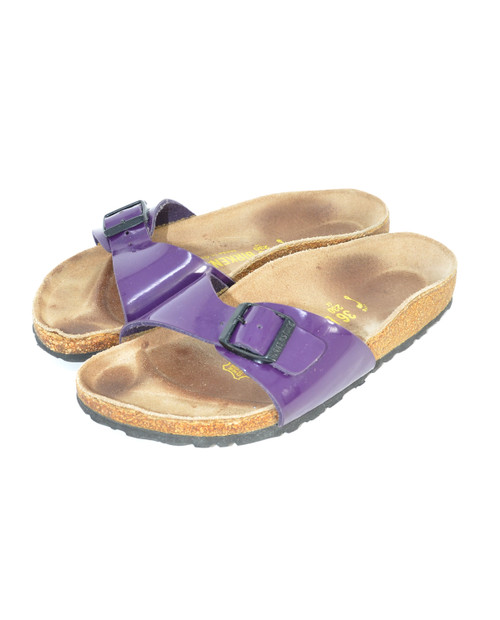 Purple Birkenstocks