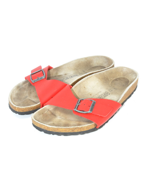 Red Papillio Birkenstocks