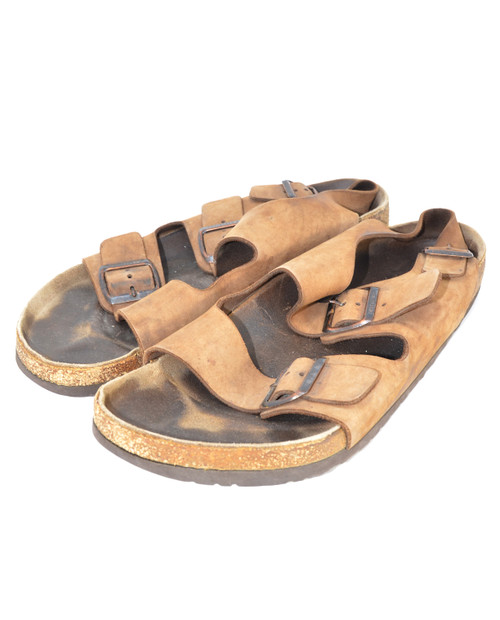 Brown Suede Birkenstock