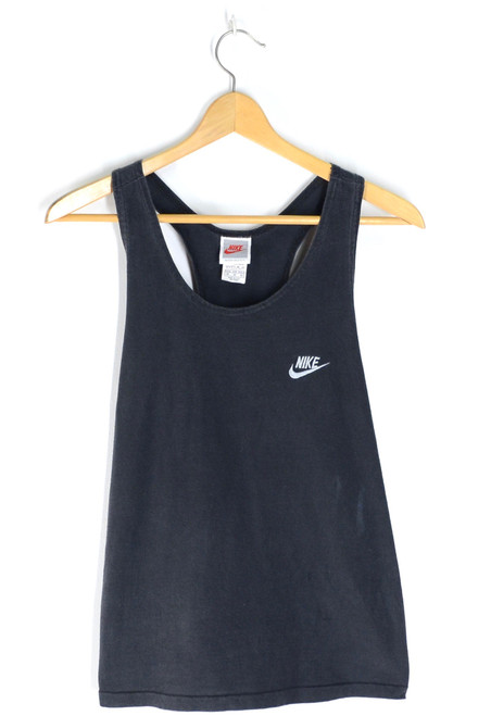 Classic Nike Sports USA Made Tanktop Sleeveless Black |  Medium