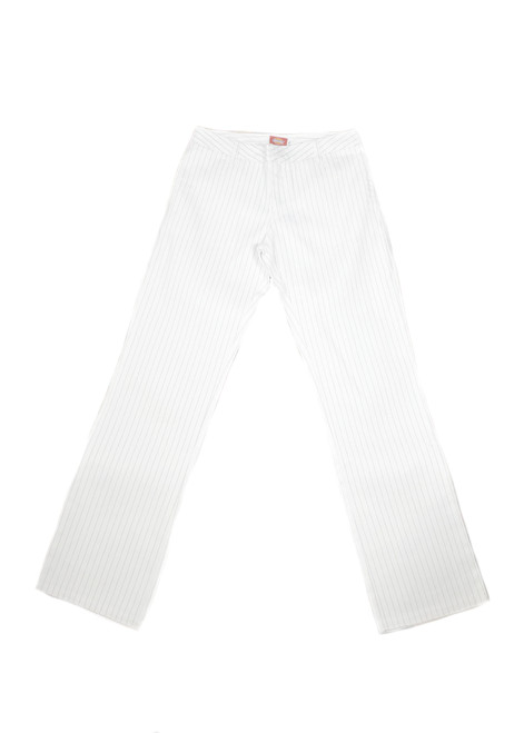White Pinstripe Deadstock Dickies
