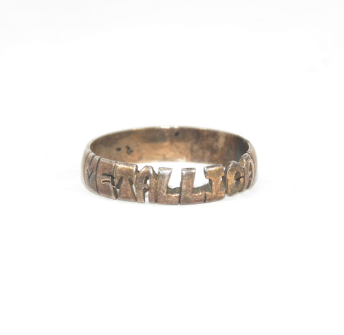 "Sterling Silver ""Metallica"" Cut Out Ring"