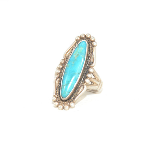 Sterling Silver Bell Trading Post Gallery Frame Ring
