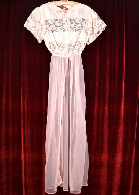 Sheer Lace Nightgown