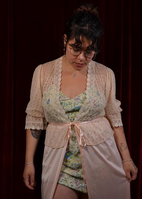 Peplum Nightgown