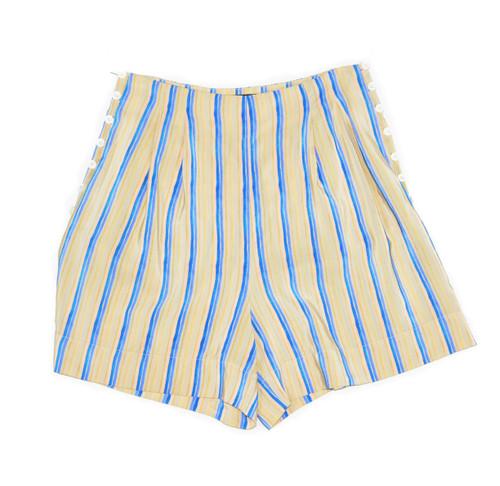 No. 6 Store Handsewn Silk Shorts