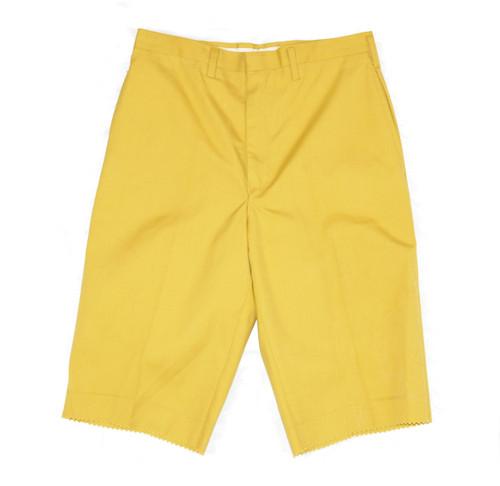 Deadstock Trouser Shorts with Talon Zipper
