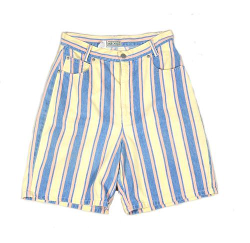 Cotton Candy Stripe Shorts