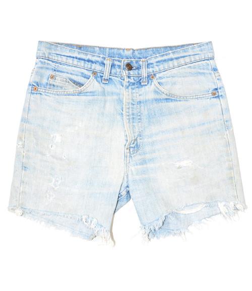 "Made in USA Levis Orange Tab Denim Shorts 32"""