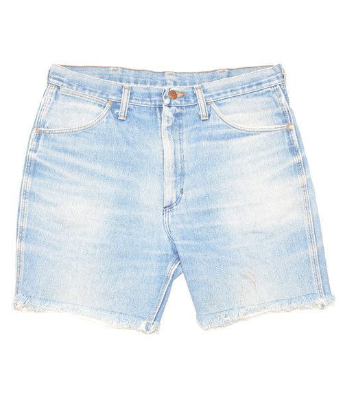 "Perfectly Faded Wrangler Shorts 34"""