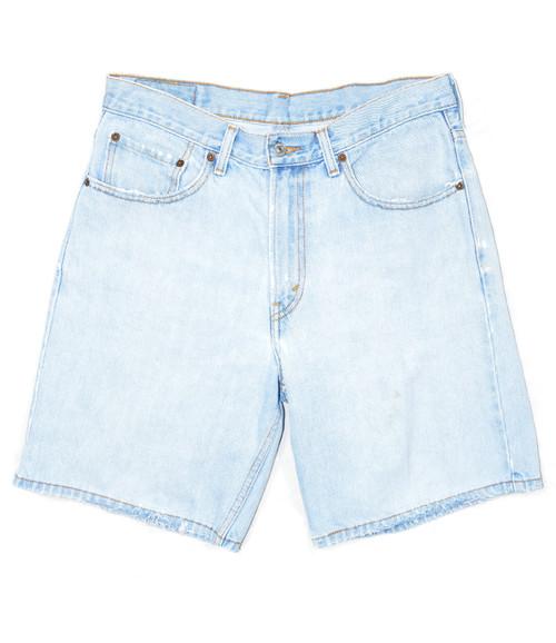 Levis Light Wash 550 Denim Shorts