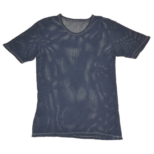 Deep Blue Mesh Tshirt