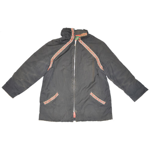 Embroidered Jacket with Talon Zipper