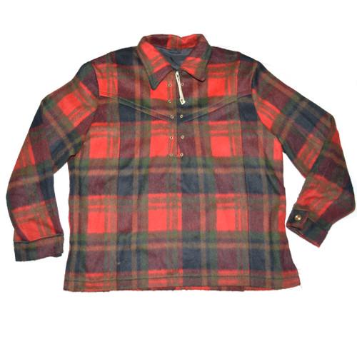 Wool Quarter-Zip Jacket
