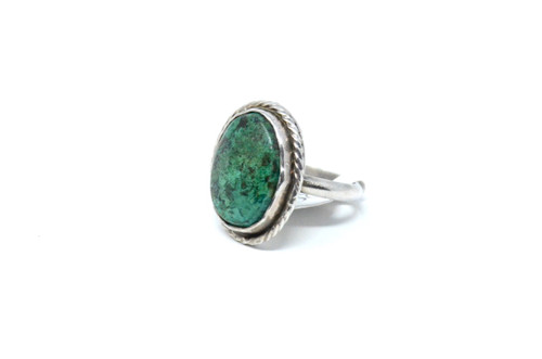 Sterling Dyed Howlite Ring