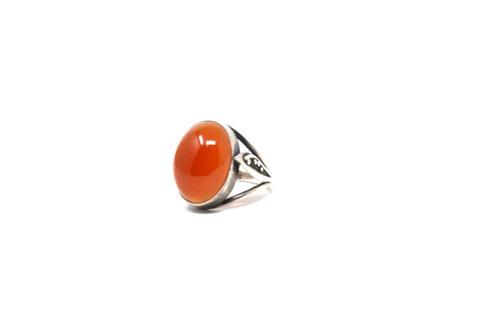 Sterling Carnelian Ring