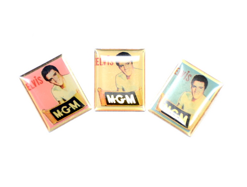 MGM Elvis Portrait Pin (3 Colors)