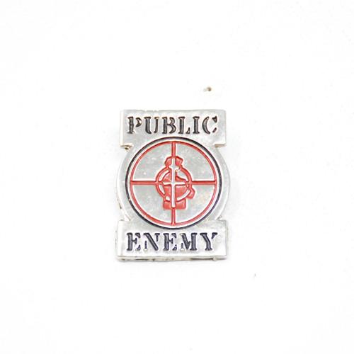 "Public Enemy ""Crosshairs"" Logo Pin"