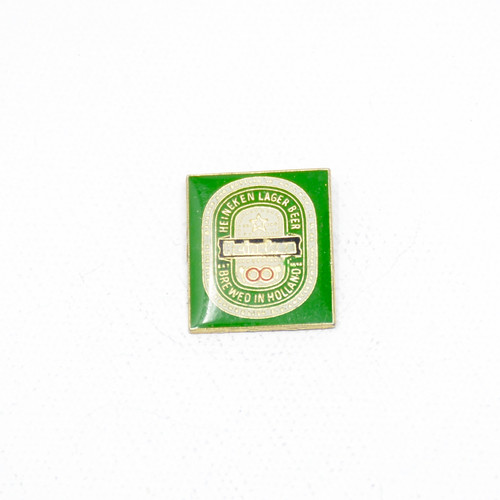 Heineken Classic Logo. Square Pin. Dutch Lagers!