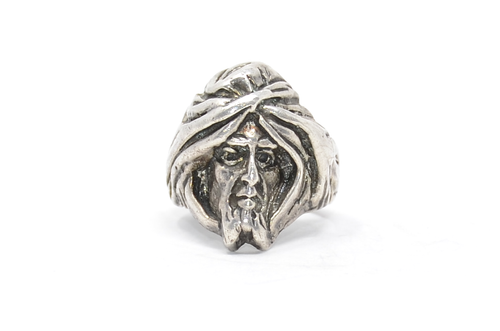 Sterling Lost Wax Cast Wizard Ring