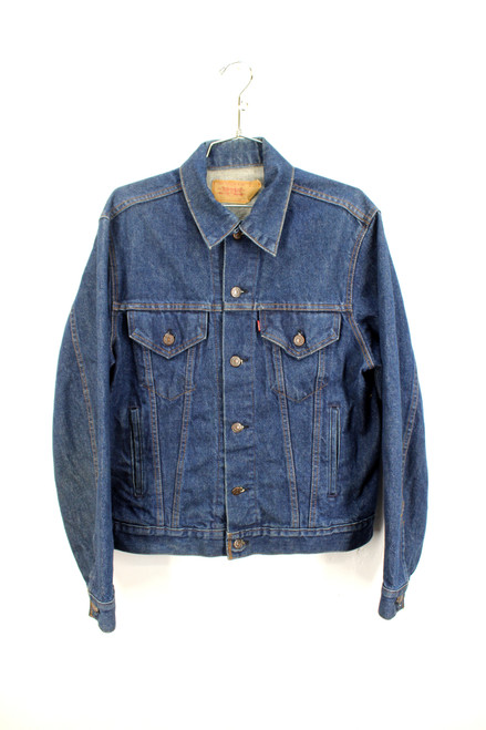 USA Made Levis Dark Wash Denim Jacket | Size 42
