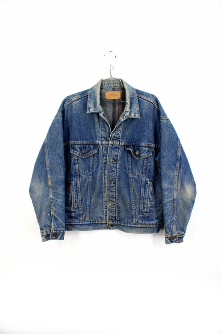 Made in USA Levis Blanket Liner Denim Jacket | Size M