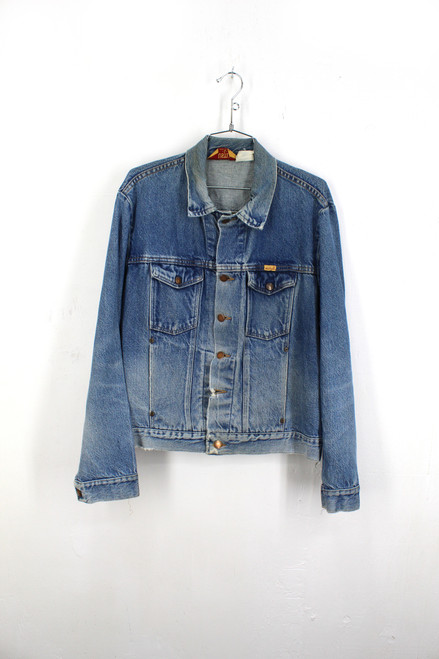 Rustler USA Made Denim Jacket | Size L