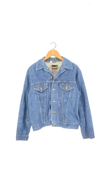 Wrangler USA Made Denim Jacket Light Wash Size 40