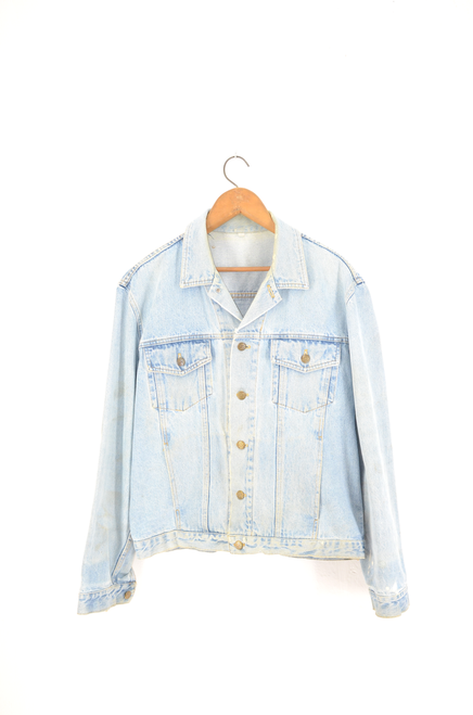 NO BRAND Light Wash Denim Jacket