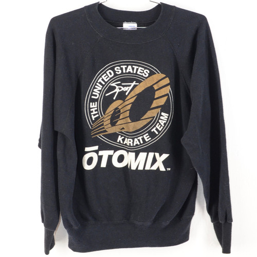 USA Made Ultra Sweats Raglan Karate otoMIX Crewneck Sweatshirt
