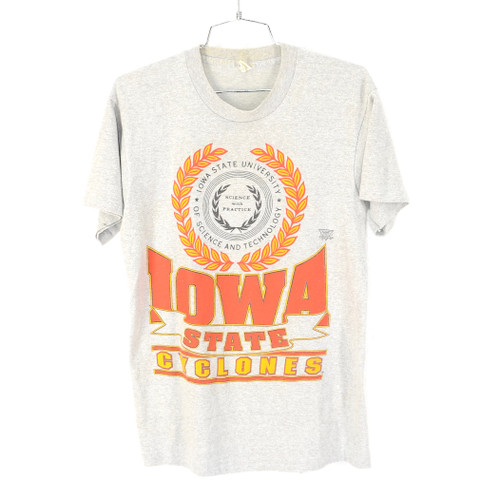 Screen Stars USA Made Iowa State University T Shirt Size M