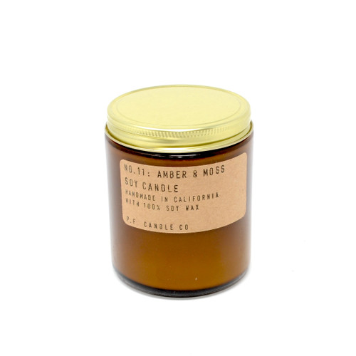 P.F. Candles CA - No. 11 Amber & Moss Soy Wax Candle
