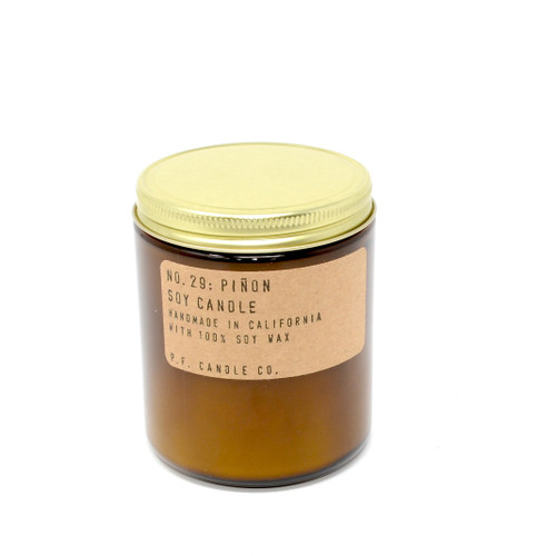 P.F. Candle CA - NO. 29 : Piñon | 100% Soy Wax Candle